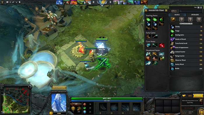 iccup pages dota 2 how to start